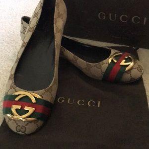 Gucci Original GG Flats